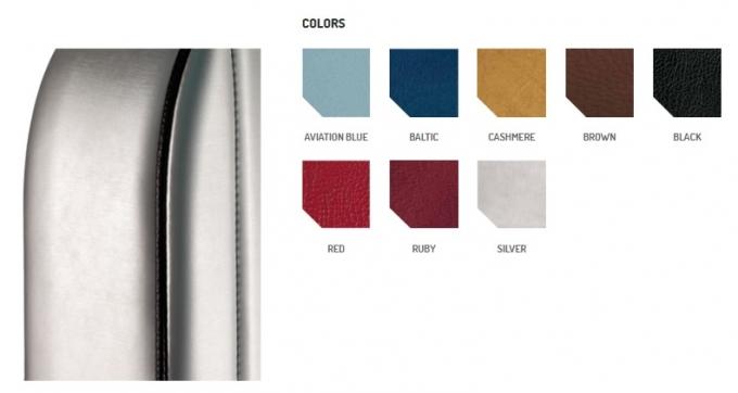 EXCLUSIVE Персонализированная обивка 8 цветов, 3 отделки