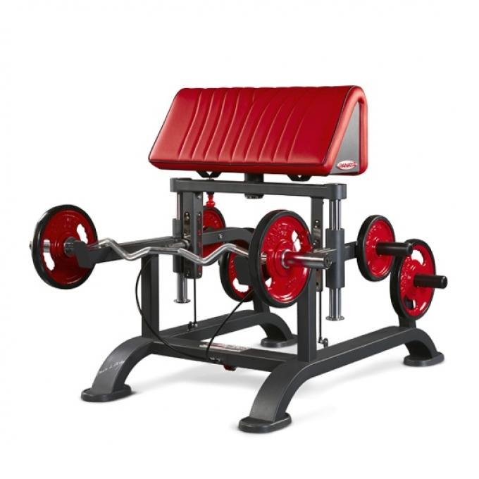 Скамья Скотта регулируемая Adjustable standing curl bench 1HP213 Panatta