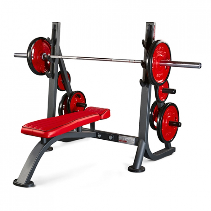 Скамья для жима горизонтальная Olympic flat bench 1HP203B Panatta