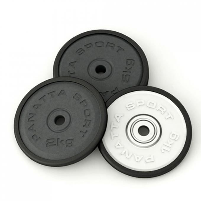 Диск d=50 мм, 5 кг, черный 1DG5 Panatta