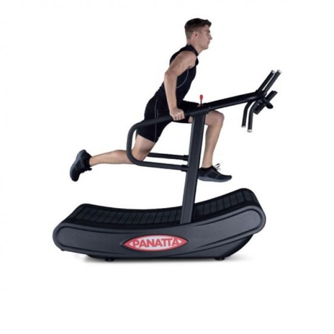 Большой поручень позволяет использовать разные положения для упражнений