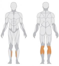 Тренажер для развития мышц голени