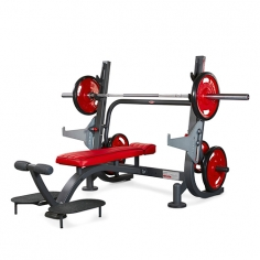 Скамья для жима горизонтальная Super olympic flat bench 1HP203 Panatta