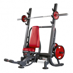 Скамья для жима сидя Olympic shoulder bench 1HP207 Panatta