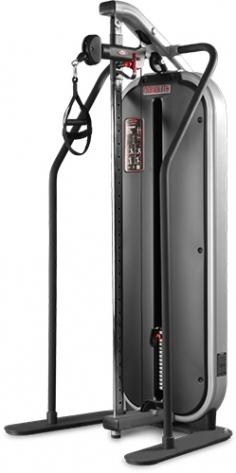 Блок кроссовера Adjustable cable station with bar 1MTH114 Panatta