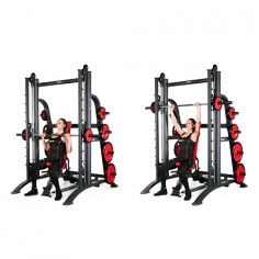 Машина Смита со скамьей Smith machine counterbalanced 1HP120F Panatta